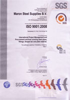 Click here to view our ISO 9000 certificate as issued by SGS
